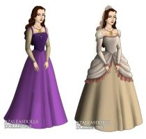 Vanessa (The Little Mermaid) outfits by sarasarit