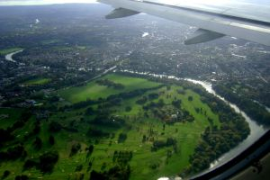 UK from above by sleepingFrog