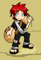 Gaara new design by desfunk