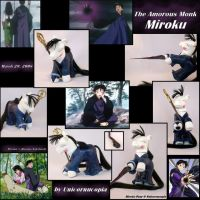 The Amorous Monk Miroku by Unicornucopia