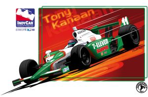 Tony Kanaan Design by graphicwolf