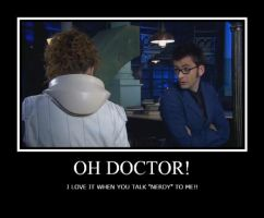 Oh Doctor, Talk 'Nerdy' to me by Okitakehyate