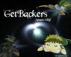Wallpaper GetBackers Ginji by Sonsaku