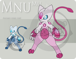 Fake Pokemon - Mnu Mu by Prinny-Dood