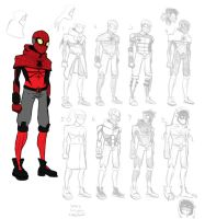 Spider-Man Redesigns by Warlocked222