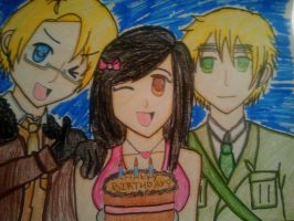 My little bro's Hetalia birthday card! by EuroPrincess
