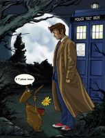 Doctor who and E.T by DameEleusys