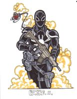 Flash Thompson Venom by Burke73