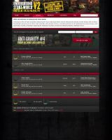USW Forum Layout by iarehero