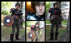 Hiccup Horrendous Haddock the Third (aged twenty) by Zarakoda