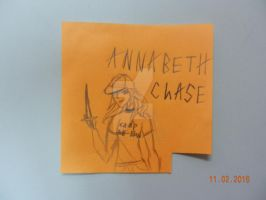 percy jackson:annabeth chase by neonpridelight