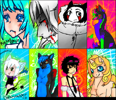 iScribble OC's 4 by Firregani