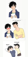 BH6 love letter comic by BBG4ya