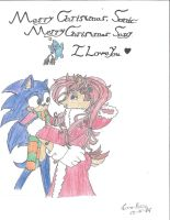 Sonic and Sally's Christmas by SonicSallyFan-1