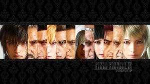 Final Fantasy XV Wallpaper v2 by VisionStudio