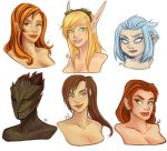 Bust Commissions by Kayley