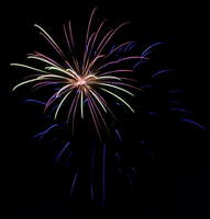 July 4th 2013 Fireworks 4 by WayvDesigns