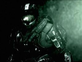 Halo reach Dark Master Chife by TheDarkWolf64