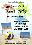 Beach Volley Flyer by jcHome0
