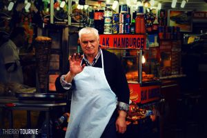 Kebab Seller - Istanbul by Criquet