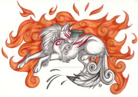 Amaterasu by CaptainMorwen