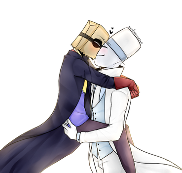 [PaperHat Request 5]: Kisses by owoSesameowo