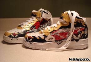 Customize Your Kicks: Part 2 by nedashi