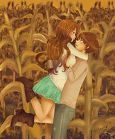 Lost in a Corn Maze by xMarinx