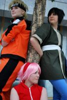 Team 7 - Under the tree by Seal-Sasuke