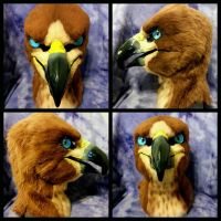 Red Tailed Hawk mask by Neonr0se