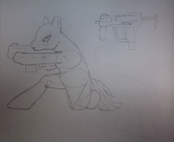 MLP Rifle sighting Attempt (Rough) by Tavor--21