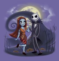 Little Nightmare Before Christamas by daekazu