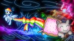 Nyan Dash by NeonCabaret
