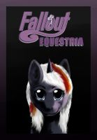 Fallout Equestria Cover Fanart : Velvet Remedy by kta1540