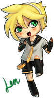 VOCALOID: Len by Paperwick