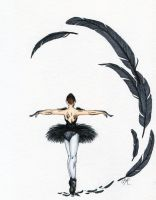 The Black Swan by Kitty-Grimm