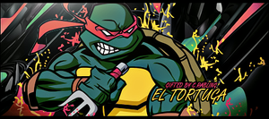 TMNT Raphael Signature by Rabling-Arts