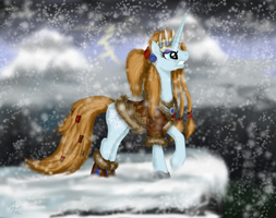 Lady Aurora Wintergrasp by Salahir