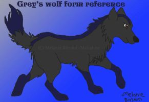 Grey's wolf form reference by Mel-at-ne