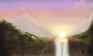 Fantasia Falls by TLSproduction