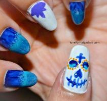 Halloween Nails by Gorgeousnails