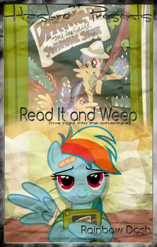 MLP : Read It and Weep - Movie Poster by pims1978