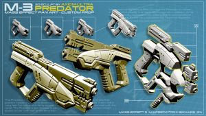 M-3 Predator Custom Model Kit by hsholderiii