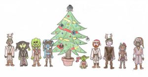 A Very Star Wars Christmas by swfan444
