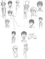 Once-ler Sketchdump by shadowfire125