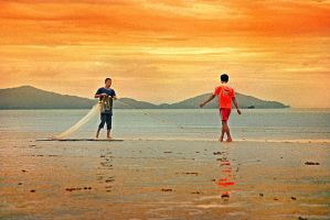 The Orange Point by apipro