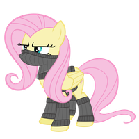 Fluttershy Vector - Recon by Anxet