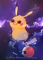 pikacharge by Apofiss