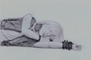 Riku- Sleeping by Lone-Wolf46