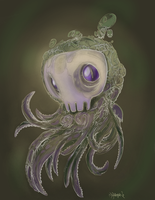 Skull_Squid_ by Gambear1er